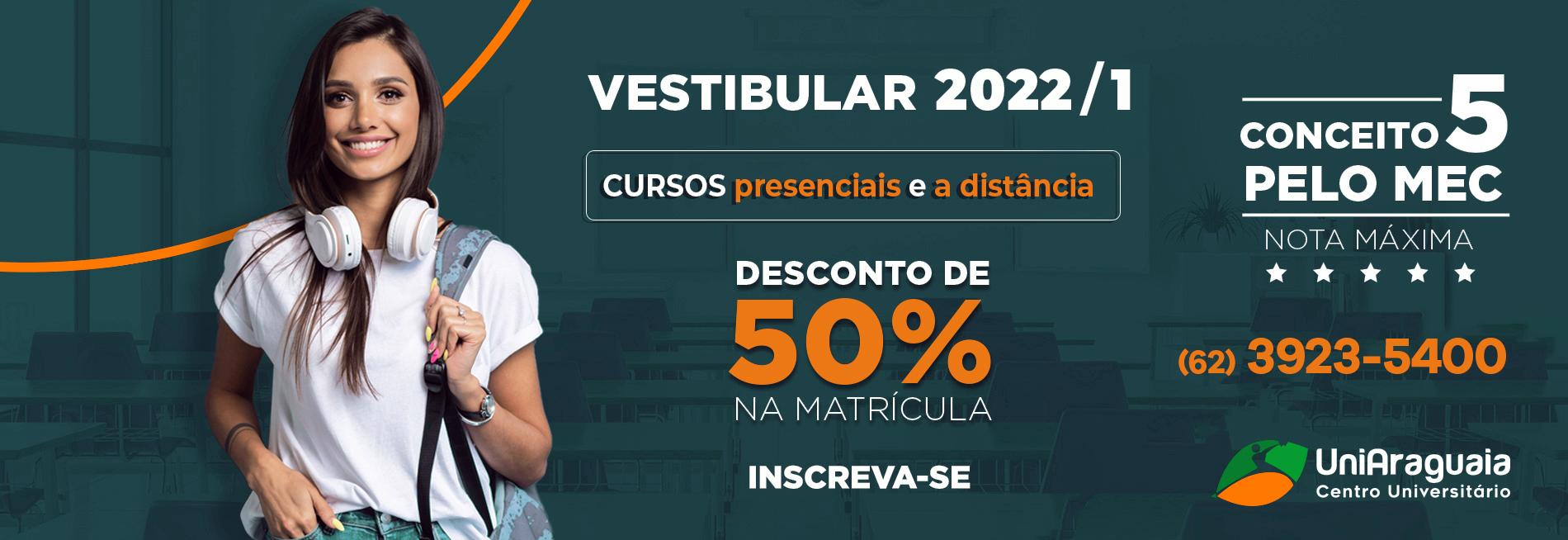 UNIARAGUAIA - Vestibular tá ON
